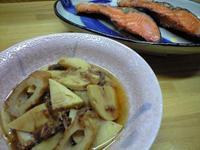 竹の子とちくわの土佐煮